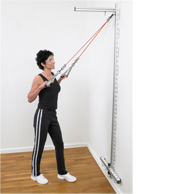 Exercise Band And Tubing Exercise Stations